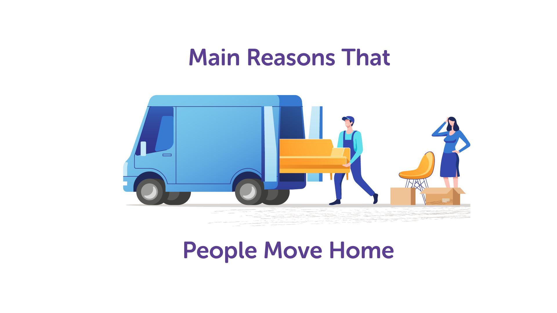 The Main Reasons Why People Move Home | UK Moneyman